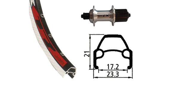 Rodi VR17 HR 622-17 36L mit Deore LX silber